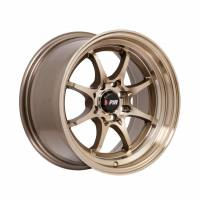 F1R Wheels - F1R Wheels Rim F03 15x8 4x100/114.3 ET25 Machined Bronze - Image 3