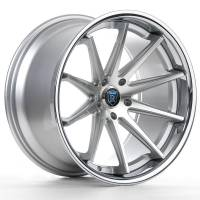 Rohana Wheels - Rohana Wheels Rim RC10 19x9.5 5x120 35ET Machine Silver/Chrome Lip - Image 2