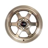F1R Wheels - F1R Wheels Rim F05 15x8 4x100/114.3 ET0 Machined Bronze - Image 1