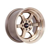 F1R Wheels - F1R Wheels Rim F05 15x8 4x100/114.3 ET0 Machined Bronze - Image 2