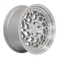 Regen5 Wheels - Regen5 Wheels Rim R32 18x8.5 5x112 40ET Machine Silver/Polish Lip - Image 2