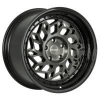 Regen5 Wheels - Regen5 Wheels Rim R32 18x8.5 5x100 38ET Smoked Carbon/Black Lip - Image 1