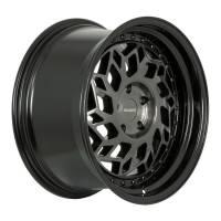Regen5 Wheels - Regen5 Wheels Rim R32 18x8.5 5x100 38ET Smoked Carbon/Black Lip - Image 2