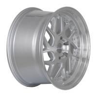 Regen5 Wheels - Regen5 Wheels Rim R33 18x9.5 5x112 42ET Machine Silver/Polish Lip - Image 3