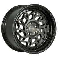Regen5 Wheels - Regen5 Wheels Rim R32 18x9.5 5x120 35ET Smoked Carbon/Black Lip - Image 1