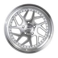 Regen5 Wheels - Regen5 Wheels Rim R33 18x8.5 5x100 35ET Machine Silver/Polish Lip - Image 1