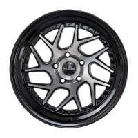 Regen5 Wheels - Regen5 Wheels Rim R33 18x8.5 5x100 35ET Smoked Carbon/Black Lip - Image 1