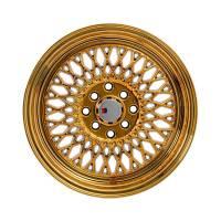 F1R Wheels - F1R Wheels Rim F01 15x8 4x100/114.3 ET25 Gold Chrome - Image 2