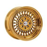 F1R Wheels - F1R Wheels Rim F01 15x8 4x100/114.3 ET25 Gold Chrome - Image 3