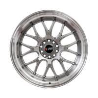F1R Wheels - F1R Wheels Rim F21 18x10.5 5x100/114.3 ET20 Hyper Black/Polish Lip - Image 2