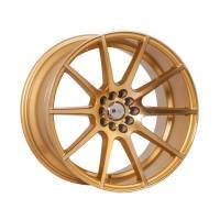 F1R Wheels - F1R Wheels Rim F17 18x10.5 5x100/114.3 ET20 Machined Gold - Image 1