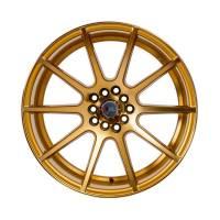 F1R Wheels - F1R Wheels Rim F17 18x10.5 5x100/114.3 ET20 Machined Gold - Image 2
