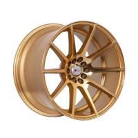 F1R Wheels - F1R Wheels Rim F17 18x10.5 5x100/114.3 ET20 Machined Gold - Image 3