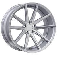 F1R Wheels - F1R Wheels Rim F27 18x9.5 5x114.3/120 ET38 Machine Silver - Image 1