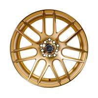 F1R Wheels - F1R Wheels Rim F18 18x9.5 5x100/114.3 ET35 Machined Gold - Image 2