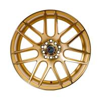 F1R Wheels - F1R Wheels Rim F18 18x10.5 5x100/114.3 ET20 Machined Gold - Image 2