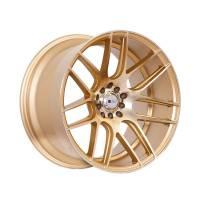 F1R Wheels - F1R Wheels Rim F18 18x10.5 5x100/114.3 ET20 Machined Gold - Image 3