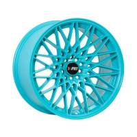 F1R Wheels - F1R Wheels Rim F23 18x9.5 5x100/114.3 ET20 Teal - Image 1