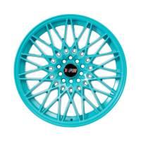 F1R Wheels - F1R Wheels Rim F23 18x9.5 5x100/114.3 ET20 Teal - Image 2