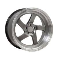F1R Wheels - F1R Wheels Rim F28 18x9.5 5x100/114.3 ET38 Hyper Black/Polish Lip - Image 1