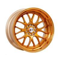 F1R Wheels - F1R Wheels Rim F21 18x10.5 5x100/114.3 ET40 Machined Gold - Image 1