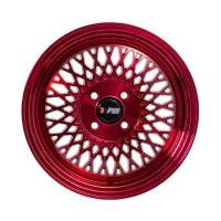 F1R Wheels - F1R Wheels Rim F01 15x8 4x100 ET25 Machined Red - Image 2