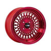 F1R Wheels - F1R Wheels Rim F01 15x8 4x100 ET25 Machined Red - Image 3