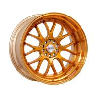 F1R Wheels - F1R Wheels Rim F21 17x8.5 5x100/114.3 ET35 Machined Gold - Image 1