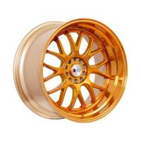 F1R Wheels - F1R Wheels Rim F21 17x8.5 5x100/114.3 ET35 Machined Gold - Image 3