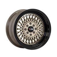 F1R Wheels - F1R Wheels Rim F01 15x8 4x100/114.3 ET25 Machined Bronze/Black Lip - Image 1