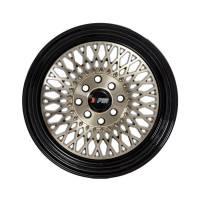 F1R Wheels - F1R Wheels Rim F01 15x8 4x100/114.3 ET25 Machined Bronze/Black Lip - Image 2