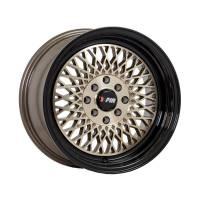 F1R Wheels - F1R Wheels Rim F01 15x8 4x100/114.3 ET25 Machined Bronze/Black Lip - Image 3