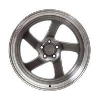 F1R Wheels - F1R Wheels Rim F28 18x9.5 5x100/114.3 ET20 Hyper Black/Polish Lip - Image 2