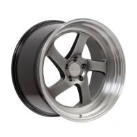F1R Wheels - F1R Wheels Rim F28 18x9.5 5x100/114.3 ET20 Hyper Black/Polish Lip - Image 3