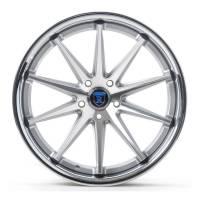 Rohana Wheels - Rohana Wheels Rim RC10 19x9.5 5x112 47ET Machine Silver/Chrome Lip - Image 1