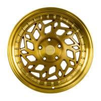Regen5 Wheels - Regen5 Wheels Rim R32 18x8.5 5x114.3 38ET Brushed Gold - Image 1