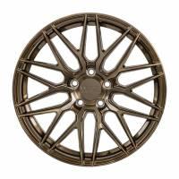 F1R Wheels - F1R Wheels Rim F103 18x9.5 5x112 ET42 Brushed Bronze - Image 1