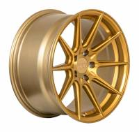 F1R Wheels - F1R Wheels Rim F101 18x8.5 5x100 ET38 Brushed Gold - Image 3
