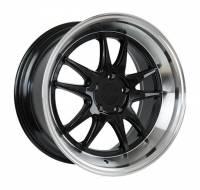 F1R Wheels - F1R Wheels Rim F102 18x8.5 5x100 ET38 Gloss Black/Polish Lip - Image 2