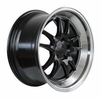 F1R Wheels - F1R Wheels Rim F102 18x8.5 5x100 ET38 Gloss Black/Polish Lip - Image 3