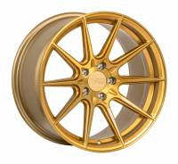 F1R Wheels - F1R Wheels Rim F101 18x9.5 5x100 ET38 Brushed Gold - Image 2
