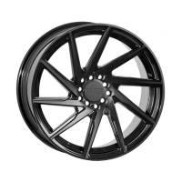F1R Wheels - F1R Wheels Rim F29 18x9.5 5x100/114.3 ET38 Double Black - Image 1