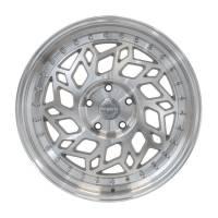 Regen5 Wheels - Regen5 Wheels Rim R32 18x8.5 5x114.3 38ET Machine Silver/Polish Lip - Image 1