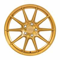 F1R Wheels - F1R Wheels Rim F101 18x8.5 5x112 ET42 Brushed Gold - Image 1
