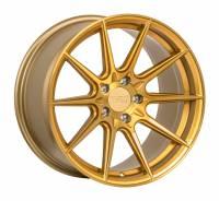 F1R Wheels - F1R Wheels Rim F101 18x8.5 5x112 ET42 Brushed Gold - Image 2