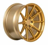 F1R Wheels - F1R Wheels Rim F101 18x8.5 5x112 ET42 Brushed Gold - Image 3