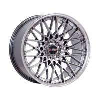 F1R Wheels - F1R Wheels Rim F23 18x10.5 5x100/114.3 ET20 Hyper Black/Polish Lip - Image 1