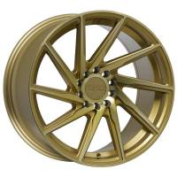 F1R Wheels - F1R Wheels Rim F29 17x8.5 5x100/114.3 ET38 Machined Gold - Image 1