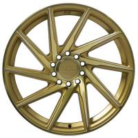 F1R Wheels - F1R Wheels Rim F29 17x8.5 5x100/114.3 ET38 Machined Gold - Image 2