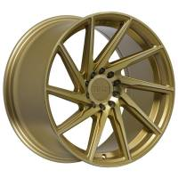 F1R Wheels - F1R Wheels Rim F29 17x8.5 5x100/114.3 ET38 Machined Gold - Image 3